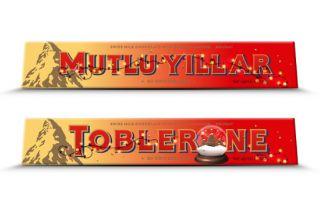 Toblerone 2018'i Yeni Yıl Özel Paketiyle Kutluyor