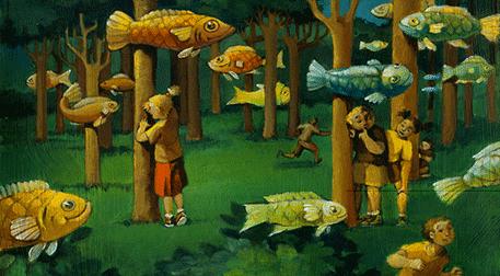 Sürrealist Oyunlar Atölyesi (6 - 12 yaş)