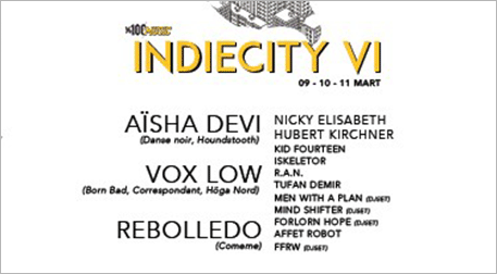%100 Müzik: IndieCity VI - Kombine