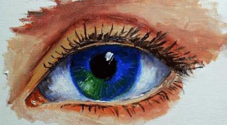 Masterpiece Galata Resim - Göz