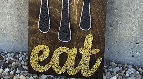 Masterpiece Galata String Art - Eat