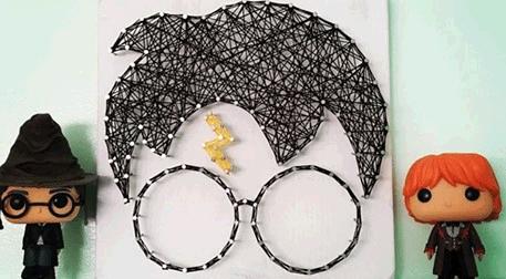 Masterpiece Galata String Art - Har