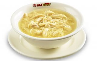 Akılalmaz Lezzetlerin Adresinden Tavuk Suyu Çorbası