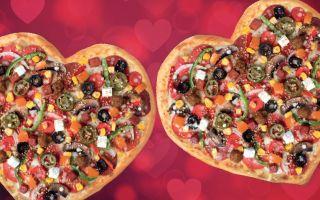 Sevgililer Günü'nde Kalbe Giden Yol Domino's Pizza'dan Geçer