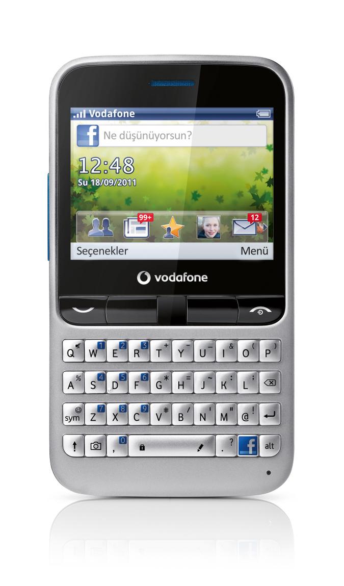Vodafone'dan Facebook'a Özel Cep Telefonu Vodafone 555