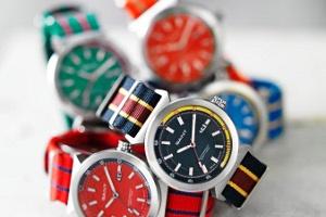 Gant Renkleri ile Askeri Çizgiler, Bradley Saat Koleksiyonunda Buluştu