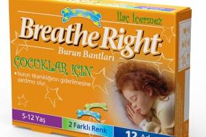 Breathe Right Çocuklar İçin Burun Bandı