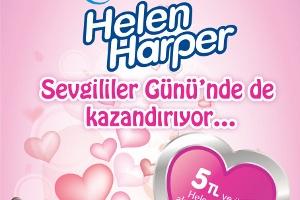 Helen Harper Sevgililer Günü'nde de Kazandırıyor