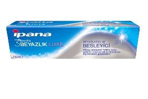 Beyazlatıcı ve Besleyici Diş Macunu İpana 3 Boyutlu Beyazlık Luxe