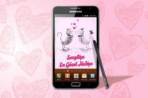 En Güzel Sevgililer Günü Hediyesi Samsung Galaxy Note