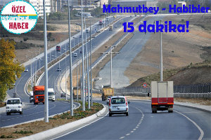 Mahmutbey - Habibler Arası Artık 15 Dakika!