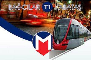 T1 Zeytinburnu – Bağcılar Tramvay Hattı'nda Peron Kaldırma Çalışması