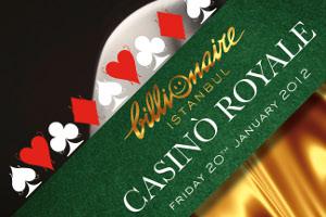 "Casino Royale"" ile Eğlence Billionaire Club'ta"