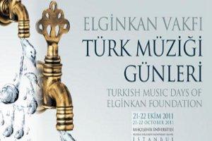 Elginkan Vakfı Türk Müziği Günleri