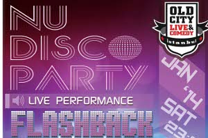 Nu Disco Party - Flashback Unit