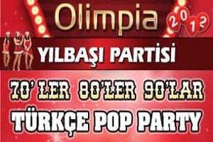 Olimpia'da Yılbaşı: Dj Hakan Küfündür'le 70 80 90 Türkçe Pop Parti