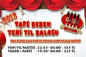 TAPS Bebek'den Muhteşem Yeni Yıl Partisi