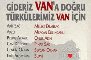 Türkülerimiz Van İçin