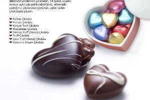 14 Şubat Aşk Çikolataları