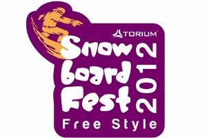Torium Avm'den Snowboard Yarışması