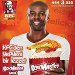 KFC'den Yeni Box Master Menü