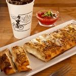 The Upper Crust Pizzeria'dan Dilim Pizza Keyfi