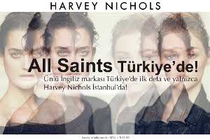 All Saints Shop-in Shop Konseptiyle İlk Defa Türkiye'de!