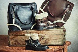 Ayakkabı ve Çantadaki Romantik Uyum Greyder`de