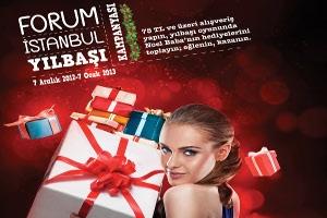 Forum İstanbul'da Noel Babanın Kızağında Binlerce Hediye Sahiplerini Bekliyor!