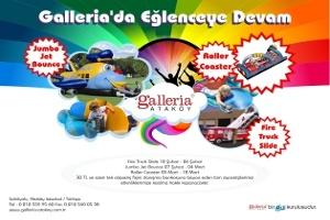 Çocuklar İçin Eğlencenin Adresi: Galleria