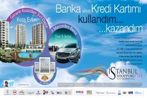 İstanbul Shopping Fest'te Kartını Kullanan Kazanacak!