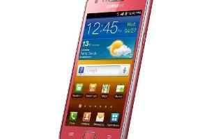Samsung GALAXY SII, Şimdi Pembe Rengiyle Türkiye'de