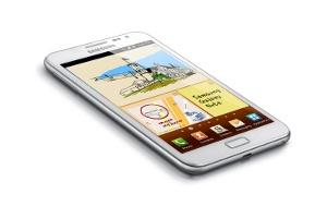 Beyaz Şıklığında Samsung Galaxy Note
