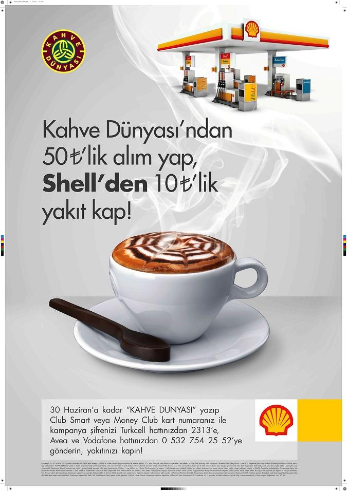 Shell'den Kahve Keyfini Enerjiye Dönüştüren Kampanya