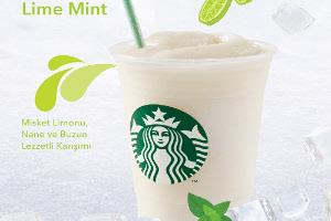 Starbucks'tan Yaza Özel Yeni Ürün: Lime Mint Frappuccino®