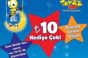 Toyzz Shop'ta Alışveriş Festivali Başladı!