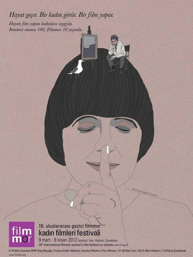 10. Uluslararası Gezici Filmmor Kadın Filmleri Festivali