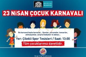 23 Nisan Coşkusu Beşiktaş'ta Kitap Festivali ve Karnavalla Yaşanacak