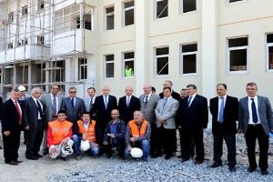 Bağcılar'da Yeni Yapılan Okulların İnşaatları Hızla İlerliyor