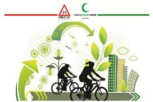Pedallar `Yeşilay` İçin Dönüyor