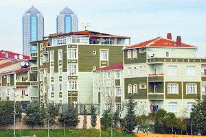 E-5 Karayolundaki Bin 300 Binaya Silüet Düzenlemesi