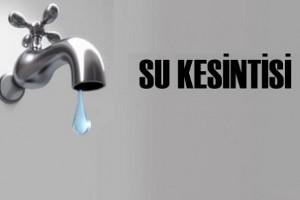 İstanbul`da Su Kesintisi
