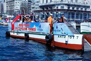 İstanbul`un Denizlerinde Temizlik