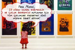 Pera Müzesi 23 Nisan'da 12:00 – 18:00 Saatleri Arası Açık