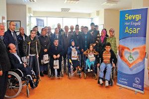 Üsküdar Belediyesi`nden Engellilere Sınav Desteği