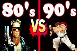 80's vs 90's Karşılaşması
