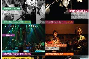 Gitarcafe Nisan 2012 Etkinlik Programı