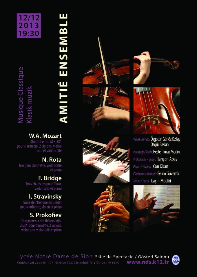 Amitié Ensemble Klasik Müzik Konseri