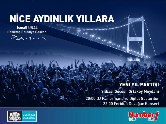 Ortaköy Sokak Partisi ve Feridun Düzağaç Konseri