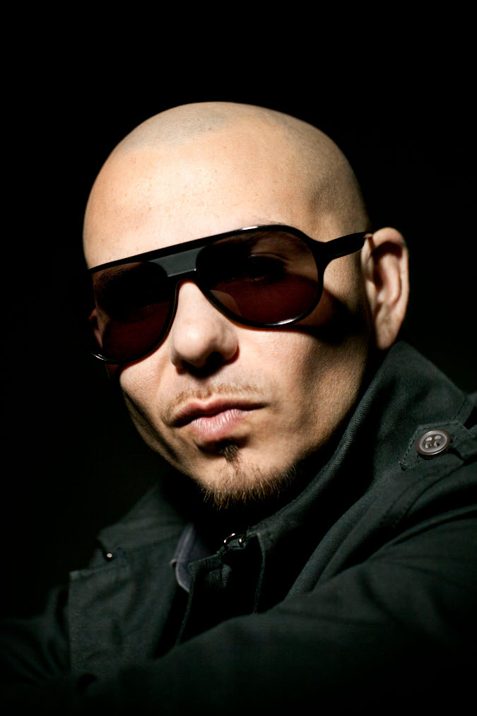 Pitbull rapper with braids
